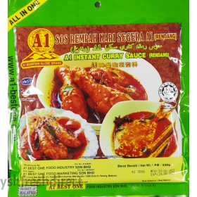 A1 INSTANT CURRY SAUCE (RENDANG)